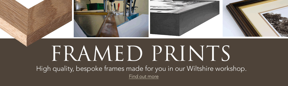Framed Prints - High quality, bespoke frames made in our Wiltshire workshops
