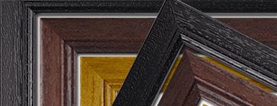 New solid-wood classic frames: Black, Antique & Mahogany